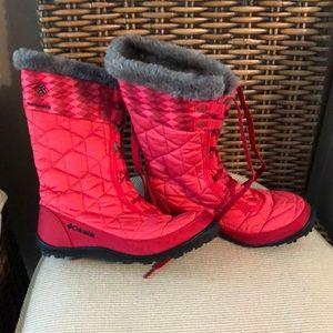 Columbia mink waterproof snow boots